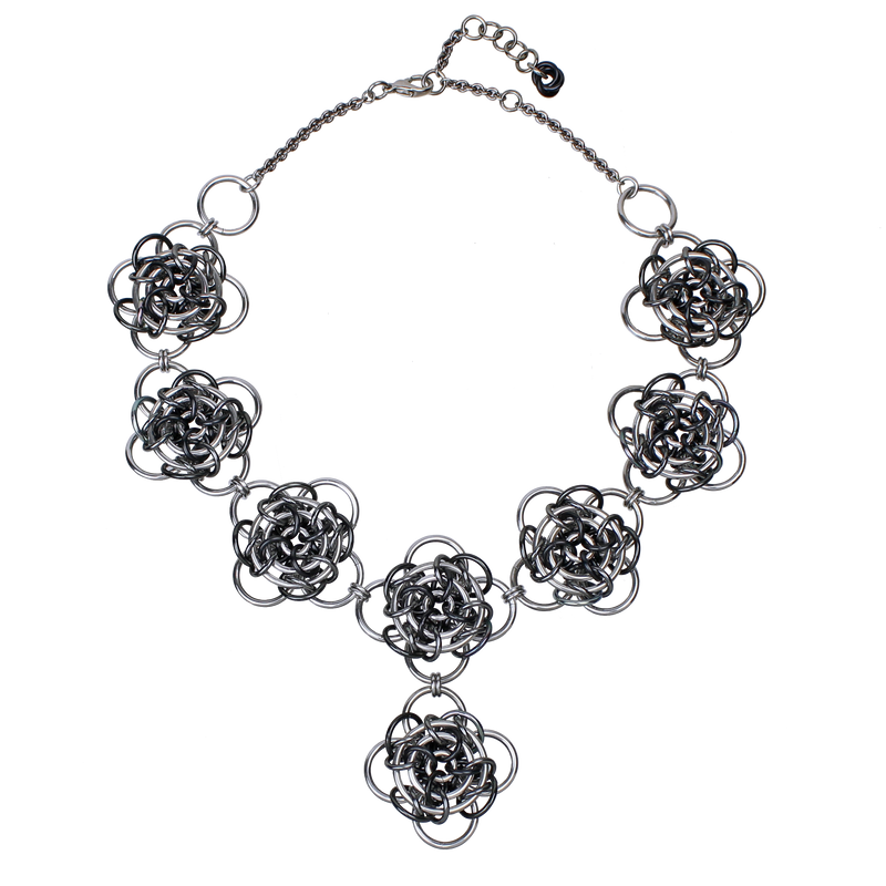Gaelic Rose - Black & Grey