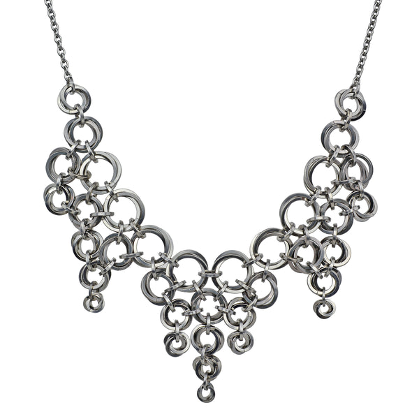 Vortex Bib Necklace