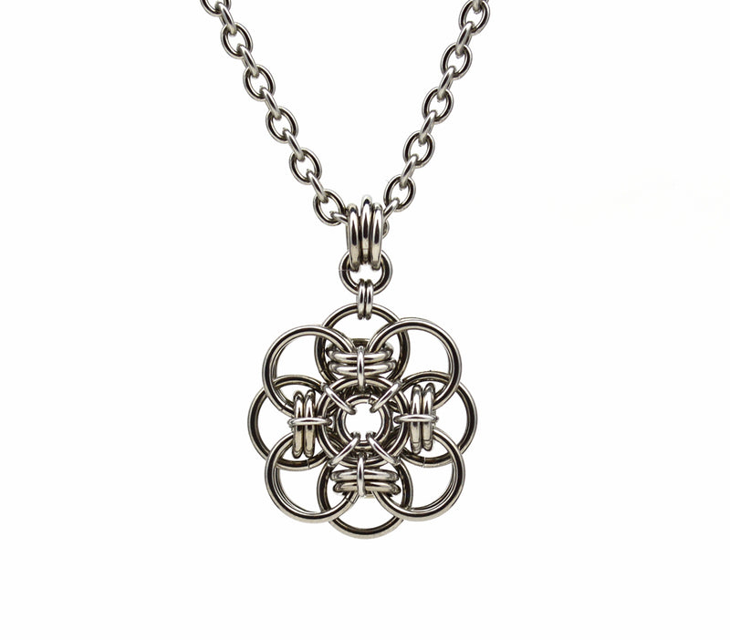 Quantum Rose SMALL Pendant
