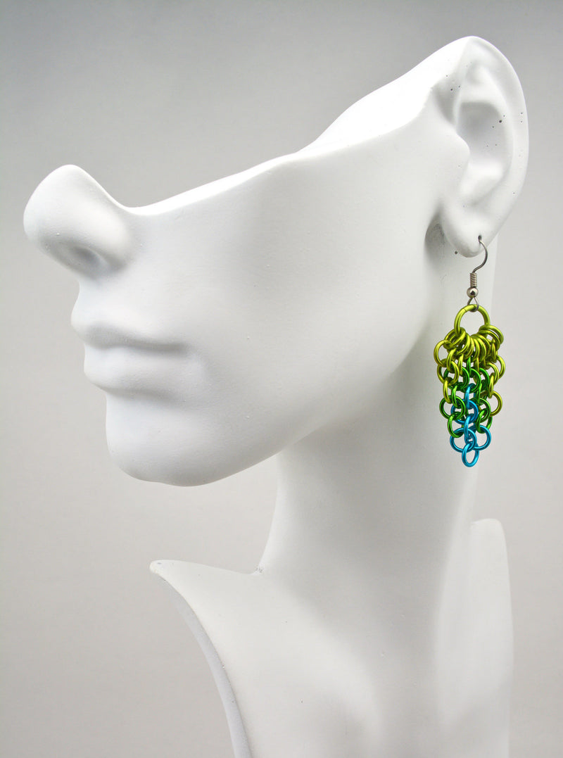 Cluster Earrings - Enchanted Forest