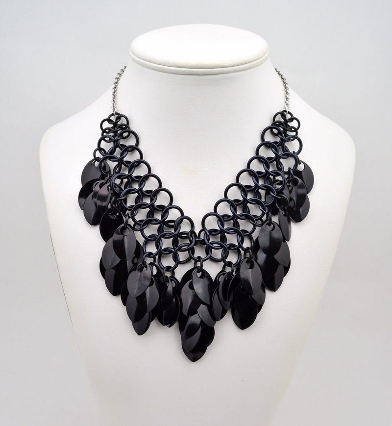 Warrior Necklace - Black