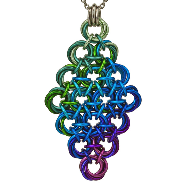 Knotted Diamond - Electric Rainbow