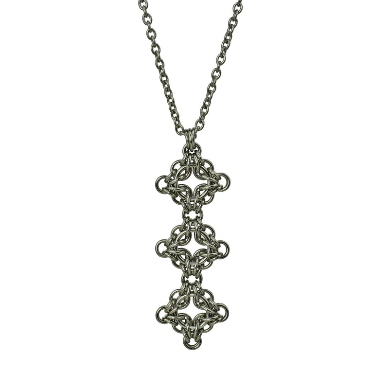 Triple Celtic Filigree Pendant