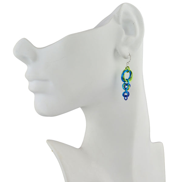 Comet Earrings - Caribbean