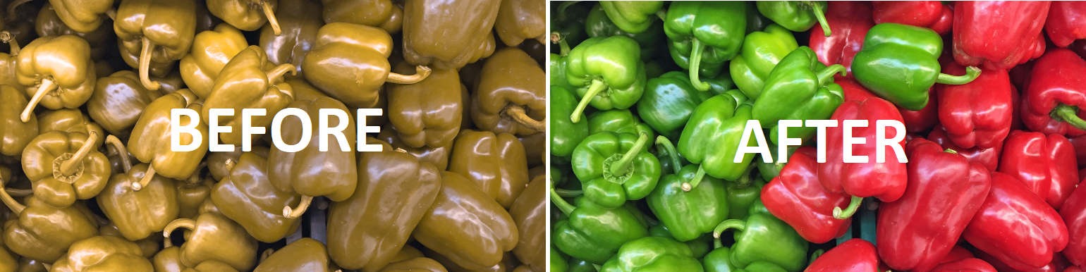 color blind peppers