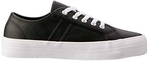 Cass Leather Sneaker - Black
