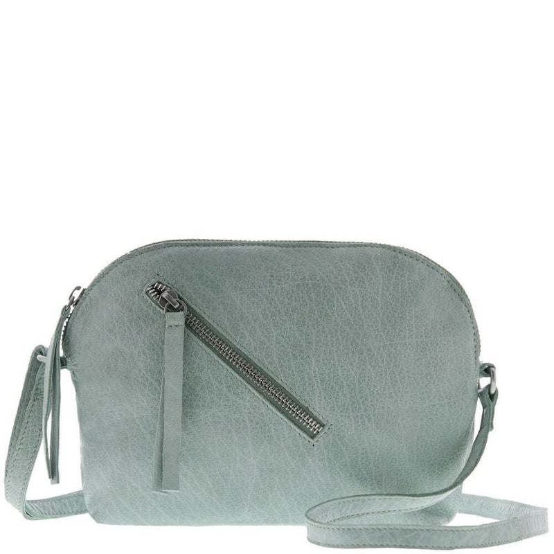 Soft Leather, Crossbody Bag, Sea