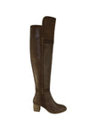 Marlee Vintage Leather Boots - Tan