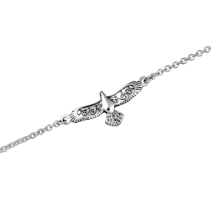 Eagle Spirit Bracelet - Stirling Silver