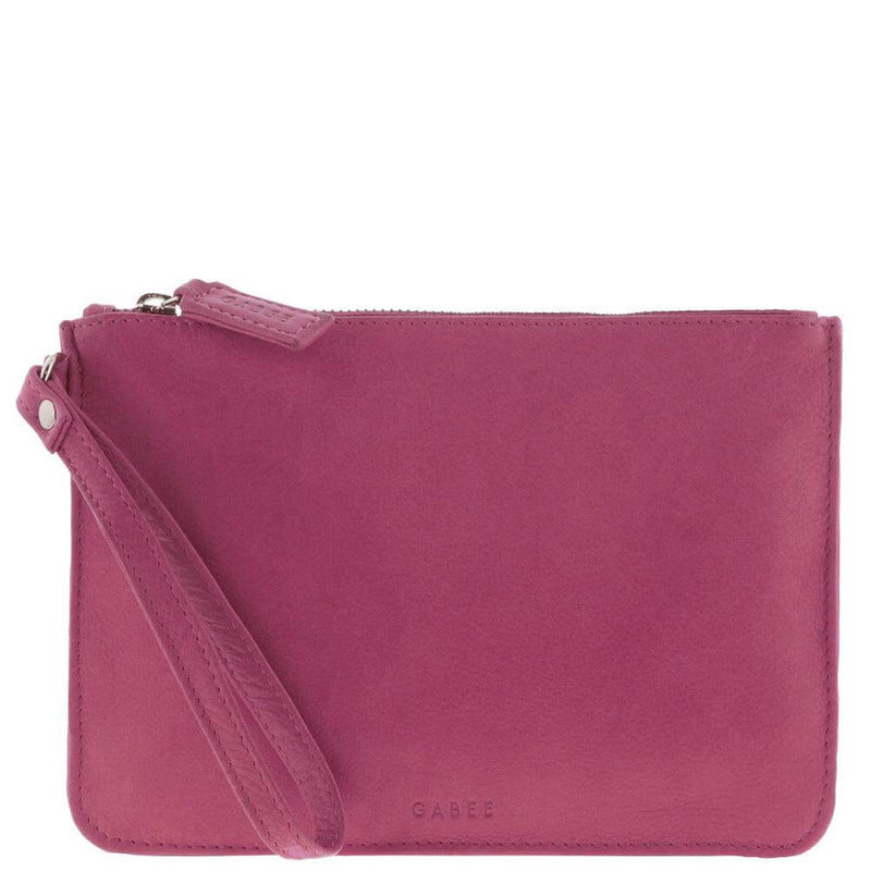 Pretty Pink Soft Leather Pouch