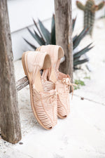 Catalina Leather Shoe - Nude