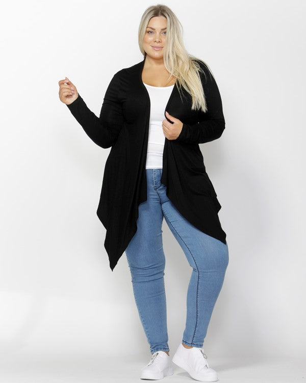 Melbourne Cardigan - Black