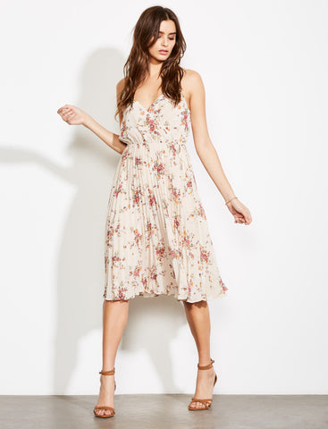 Cloud Steps Floral Midi