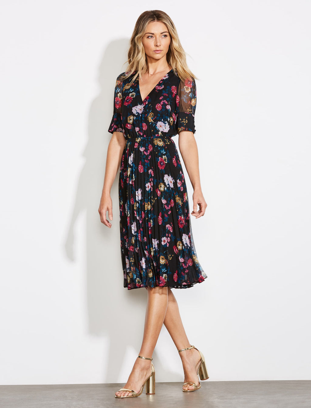 Floral Angels Flight Midi
