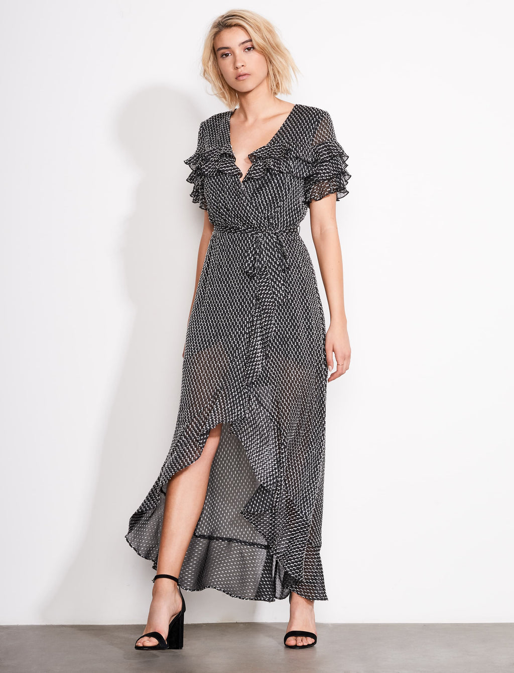 YOLO Wrap Dress