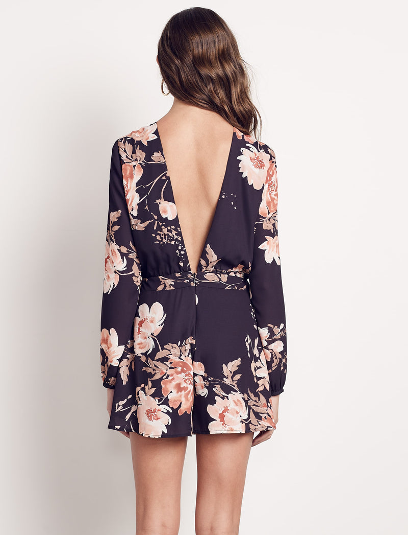 Floral Power Romper