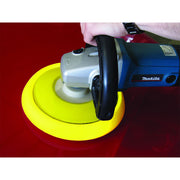 Foam Cut Yellow Buffing Pad, 8""