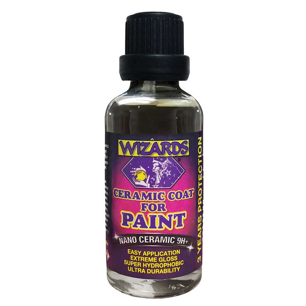 WIZARDS® Ceramic Coat for Paint, 1.7 oz 50ML