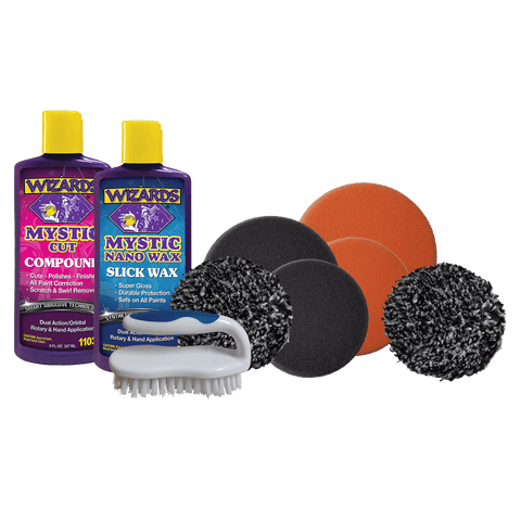 Scratch & Swirl Removal Kit-Mini (9 piece)