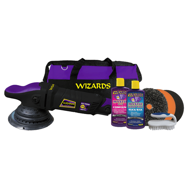 WIZARDS 21™ HD Big Throw Polisher and SSR Kit Combo