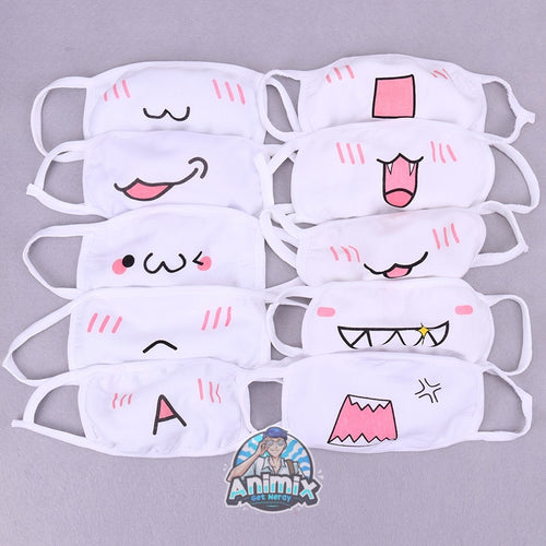 Cute White Face Mask (Limited Quantity)