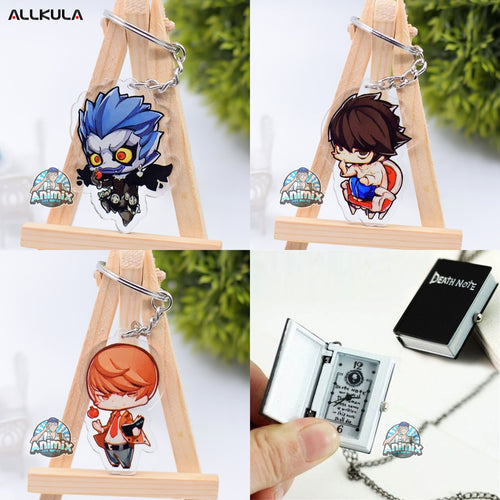 Death Note Keychains