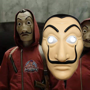 la casa de papel Mask Cosplay
