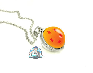 Dragon Ball Z Stars Double Sided Necklace