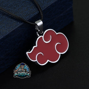 Naruto Akatsuki red cloud Necklace