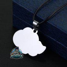 Load image into Gallery viewer, Naruto Akatsuki red cloud Necklace