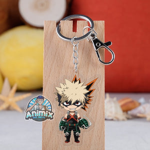 My Hero Academia key chains