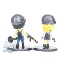 Load image into Gallery viewer, PUBG Playerunknowns BattleGrounds Action Figures 2pcs-set