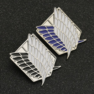 Wings of freedom Pins