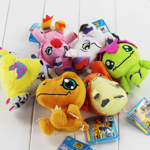 Digimon Plush 6 Pcs