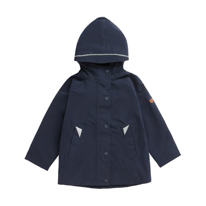 INK NAVY WATERPROOF RAINCOAT