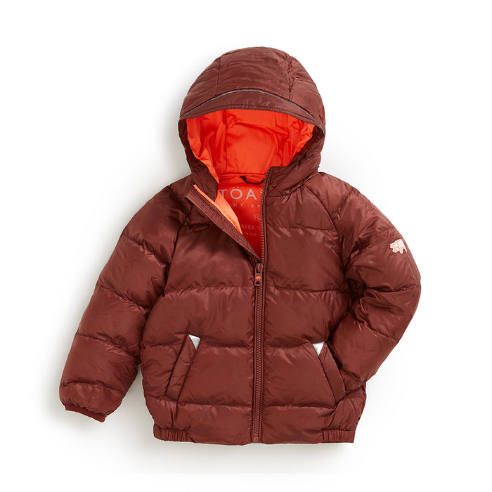 COPPER PUFFER JACKET