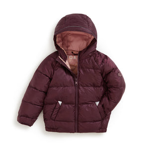 BLACK CHERRY PUFFER JACKET