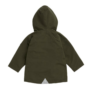 OLIVE GREEN RAINCOAT - Töastie