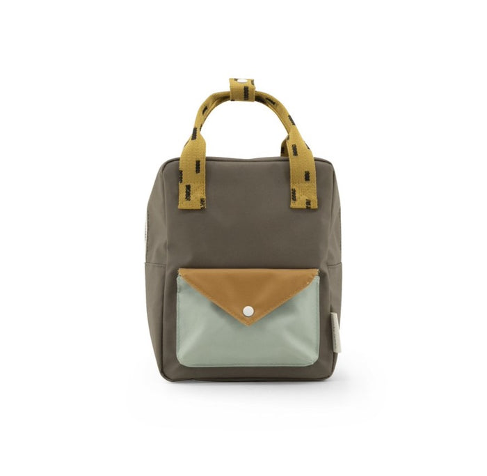 small backpack | Sprinkles | Envelope | Sage Green + Moss Green