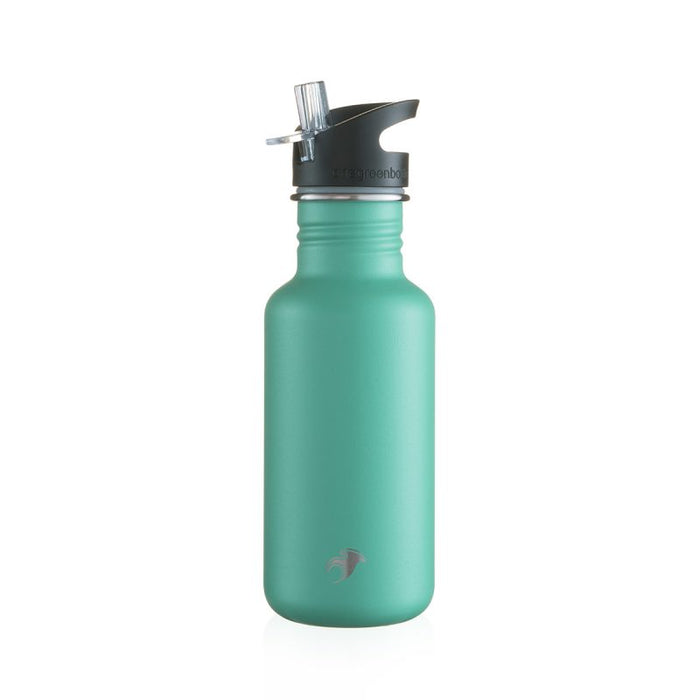 500ml neon green scratch resist stainless steel bottle