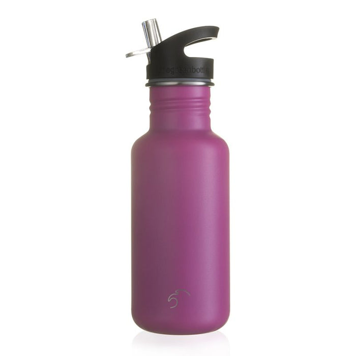 500ml hot pink scratch resist stainless steel bottle