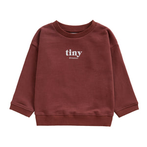 You added TINY DREAMER SWEATSHIRT | RUSSET to your cart.