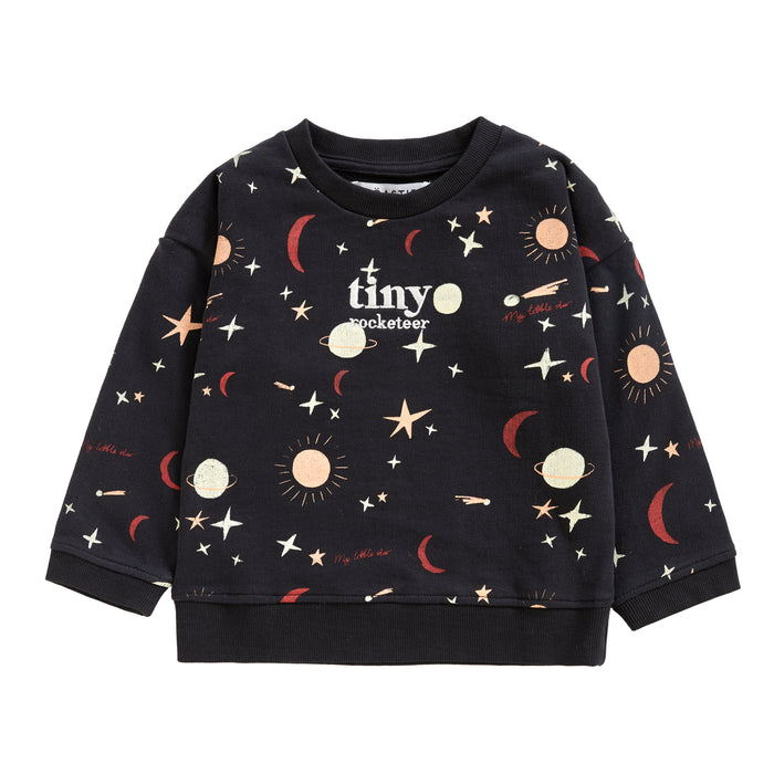 TINY ROCKETEER SWEATSHIRT | EVENING STAR - Töastie