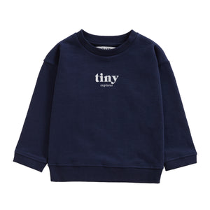 You added TINY EXPLORER SWEATSHIRT | NAVY to your cart.