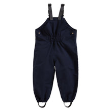 Load image into Gallery viewer, INK NAVY WATERPROOF DUNGAREES - Töastie