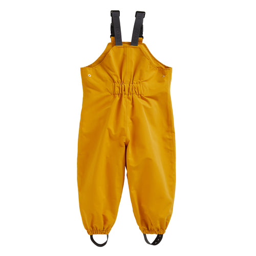 FISHERMAN YELLOW WATERPROOF DUNGAREES - Töastie