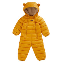 Load image into Gallery viewer, SOFT OCHRE QUILTED ONESIE - Töastie