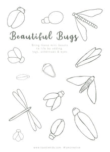 COLOUR AND CREATE | BEAUTIFUL BUGS
