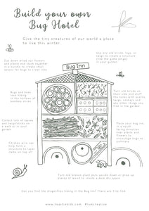 COLOUR AND CREATE | HOW TO BUILD A BUG HOTEL