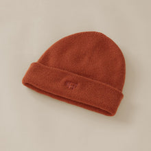 Load image into Gallery viewer, RUST CASHMERE BEANIE - Töastie